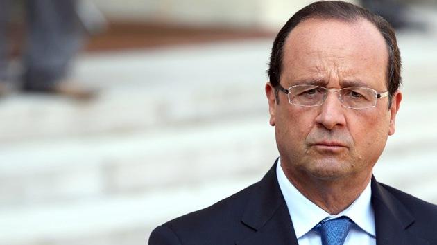 """Hollande: """"La ONU podría presentar el informe sobre Siria la próxima semana"""""""