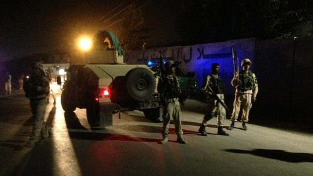 Insurgentes afganos atacan un complejo residencial donde viven extranjeros