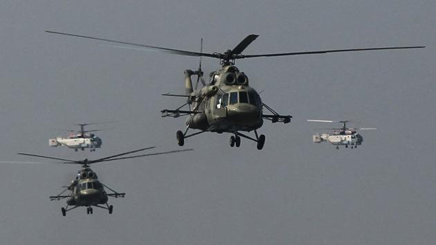 El Pentágono cancela la compra de helicópteros rusos Mi-17 para Afganistán