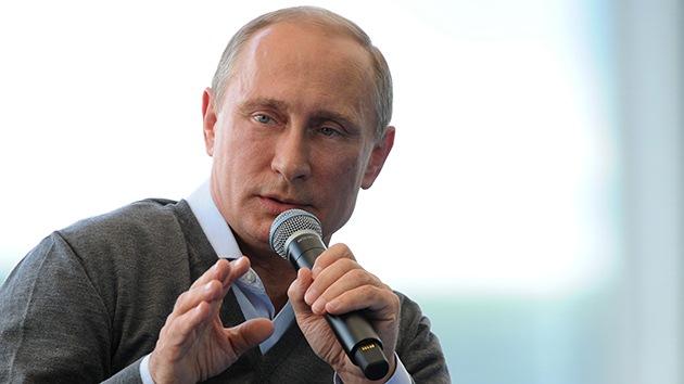 Las mejores citas de Vladímir Putin en el foro juvenil ruso Seliguer 2014