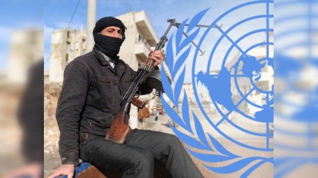"""Comisión de la ONU: """"La oposición siria viola los derechos humanos"""""""