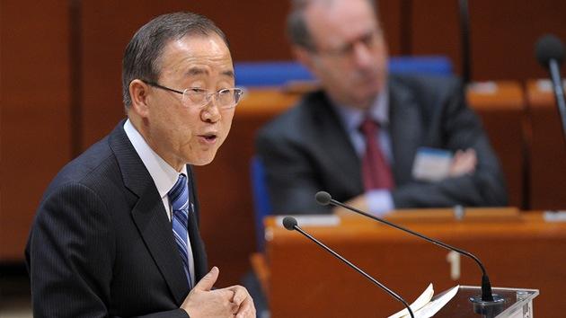 Ban Ki-moon urge a israelíes y palestinos a un alto el fuego inmediato