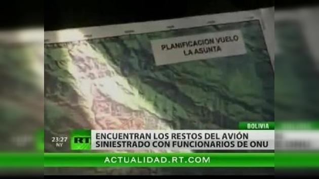 No hay supervivientes en el accidente de una avioneta antidroga de la ONU en Bolivia