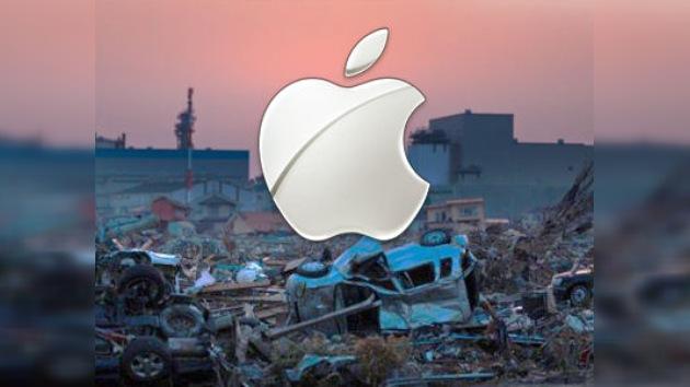 Apple reparará gratis los dispositivos dañados de los damnificados por el tsunami en Japón