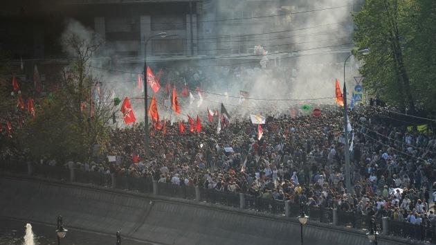 La justicia rusa amnistía a cuatro participantes en disturbios antigubernamentales