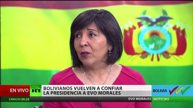 """Embajadora boliviana a RT: """"Estamos viviendo una gran fiesta democrática"""""""