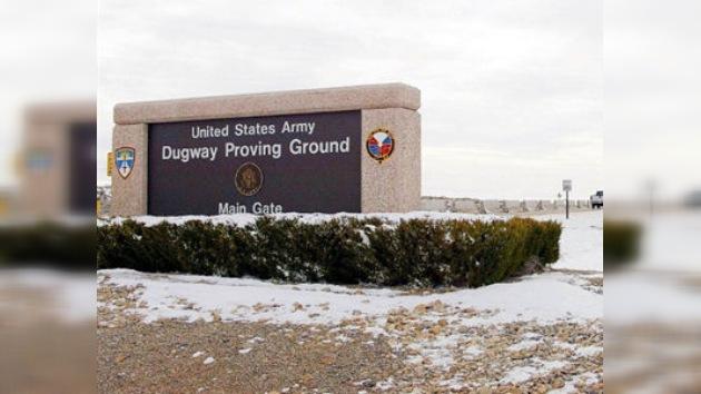 Situación de emergencia en un polígono químico militar en Estados Unidos