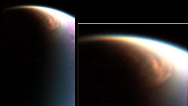 Exóticas nubes de Titán captadas por la NASA dejan boquiabiertos a los científicos