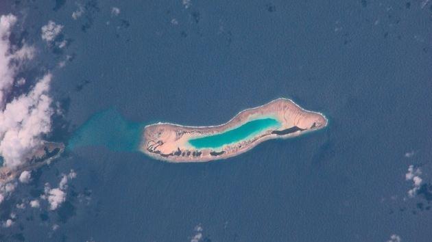 Asombroso resurgimiento de un atolón del Pacífico tras su desaparición hace un siglo