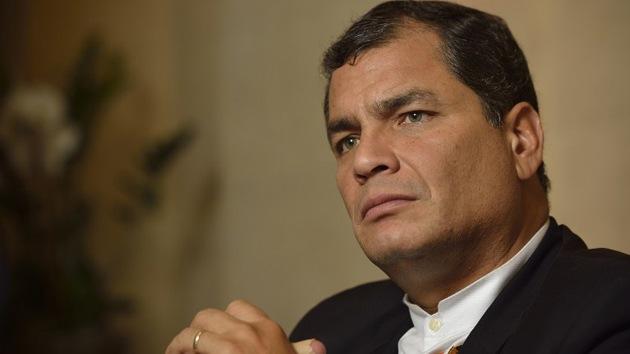 """Correa: """"La participación de la CIA en la lucha contra las FARC es gravísima"""""""