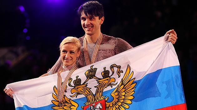 Rusia gana el oro en el Campeonato del Mundo de Patinaje Artístico