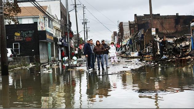 La supertormenta Sandy deja a su paso por EE.UU. 72 víctimas mortales