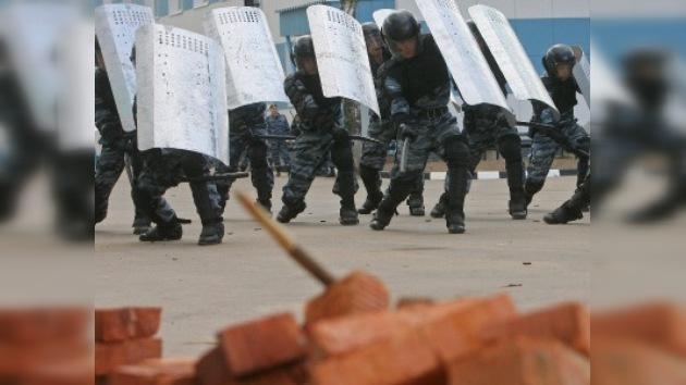 Fuerzas de intervención festejaron el día a puertas abiertas