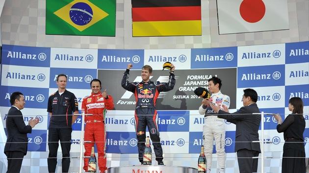 El Mundial de la Fórmula Uno se pone al rojo vivo a falta de cinco carreras