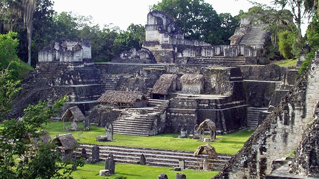El cambio climático 'evaporó' la civilización Maya