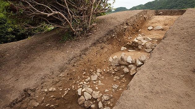 Hallan una rara pirámide megalítica en Japón