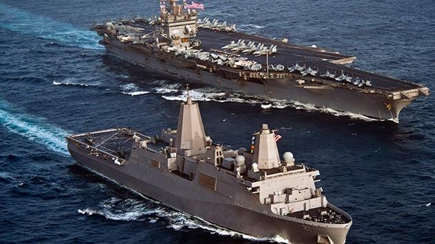 Suspenden a dos almirantes de la Marina de EE.UU. por vender información confidencial