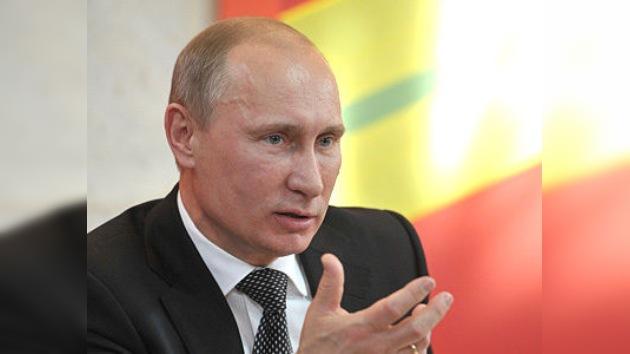 Putin: Rusia no puede tener una economía débil