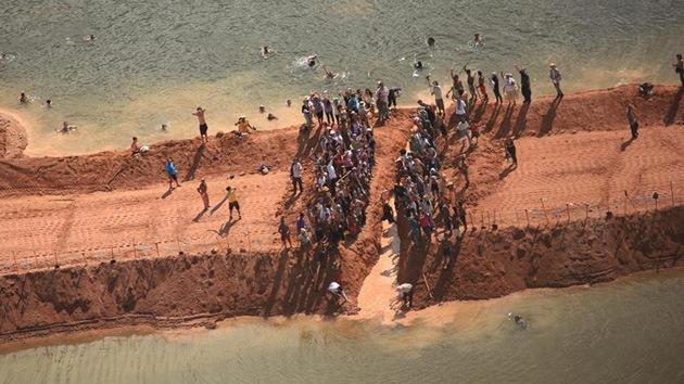 Indígenas de Brasil celebran la paralización de las obras en la represa de Belo Monte