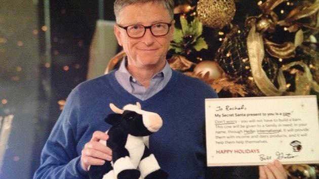 Bill Gates, 'amigo secreto' por Navidad de una joven en Reddit