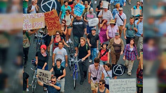 ´Ocupa Wall Street´ planea una protesta mundial en vísperas del G-20
