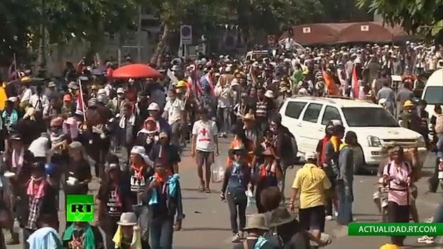 Fotos: La oposición de Tailandia declara su triunfo tras ocupar la sede del Gobierno