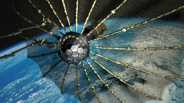 VIDEO Programa zombi espacial: el Pentágono construye un 'satélite-caníbal'