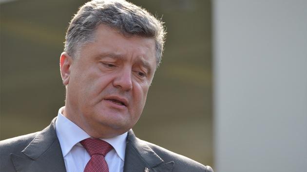 """Poroshenko: """"Obama se niega a conceder a Ucrania el estatus de aliado especial"""""""
