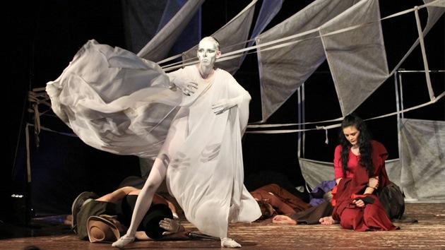 Joaquín Murieta vuelve al escenario teatral ruso sin decir ni una palabra