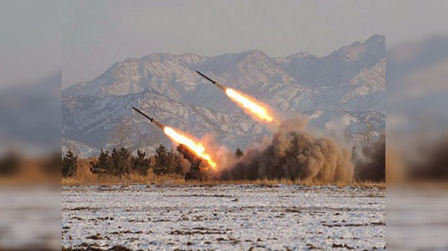 Corea del Norte prueba con éxito dos misiles de corto alcance