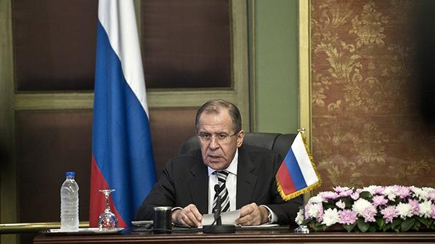 "Lavrov: ""Integrarse a la OTAN significa para Ucrania socavar los esfuerzos de paz"""