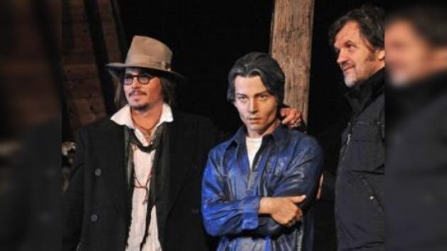 La estatua de Johnny Depp se inauguró en Serbia