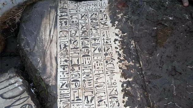 Descubren un antiguo templo egipcio durante una excavación ilegal