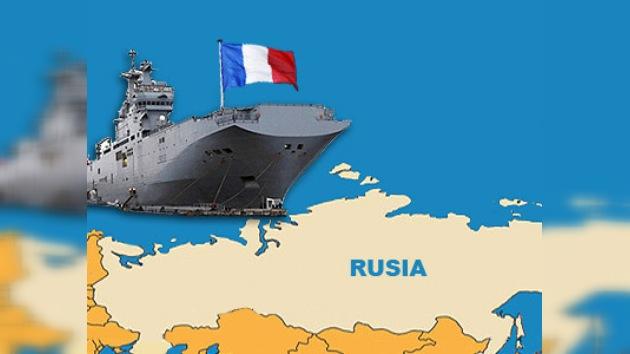 Rusia decide adquirir a Francia un portahelicópteros 'Mistral'