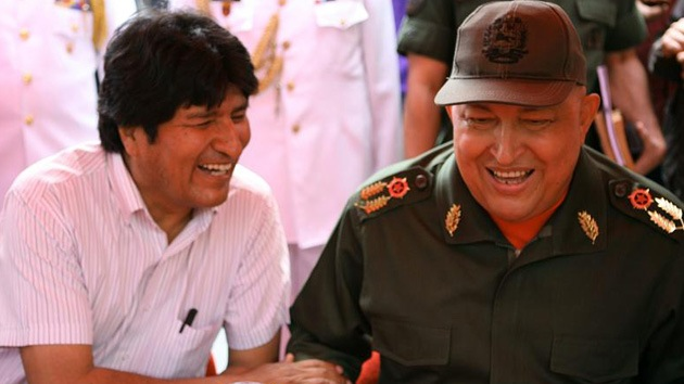 Evo Morales reconoce que a veces confunde a Maduro con Chávez