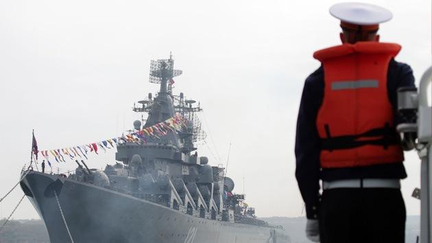 Rusia celebra los 230 años de la presencia de su Armada en el mar Negro
