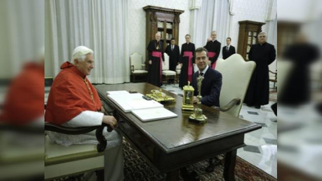 Rusia elevará el nivel de relaciones diplomáticas con el Vaticano