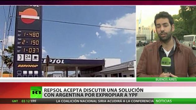 Repsol, dispuesta a aceptar una compensación de Argentina por expropiar YPF