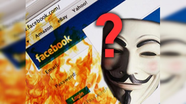 Facebook se desploma: ¿Anonymous tiene la culpa?