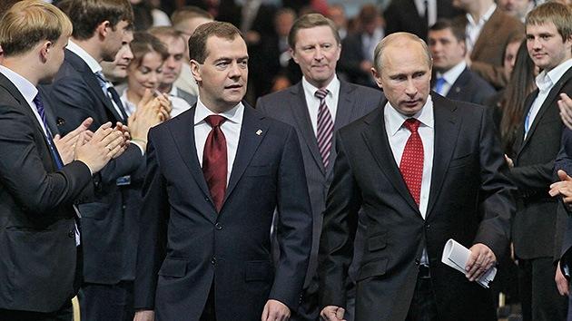 Medvédev, nuevo dirigente del partido gobernante del país