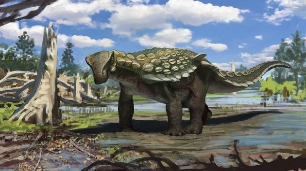 Descubren en España un dinosaurio acorazado que vivió hace 110 millones de años