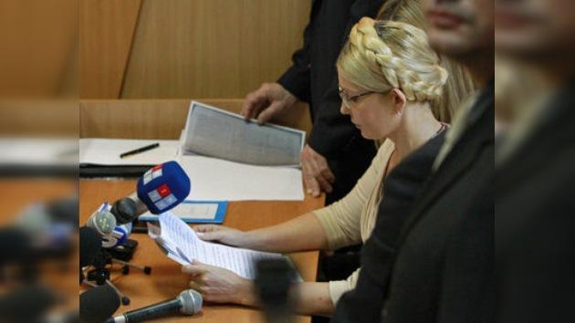 Descongelan acusaciones para la ex primera ministra de Ucrania