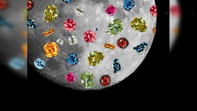Hallan piedras preciosas en la Luna