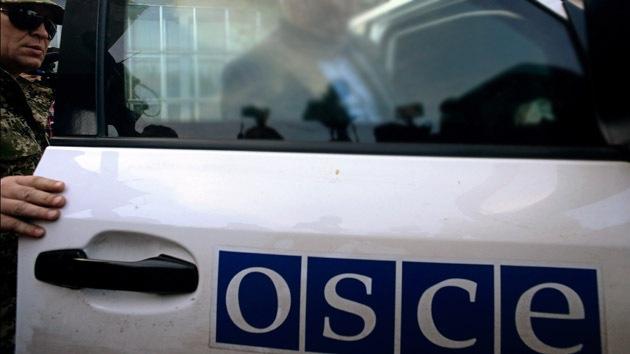 Dejan en libertad a 4 observadores de la OSCE en Donetsk