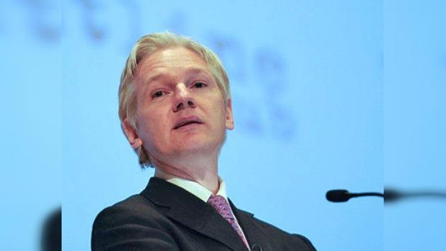 Julian Assange, galardonado con la Medalla de Oro