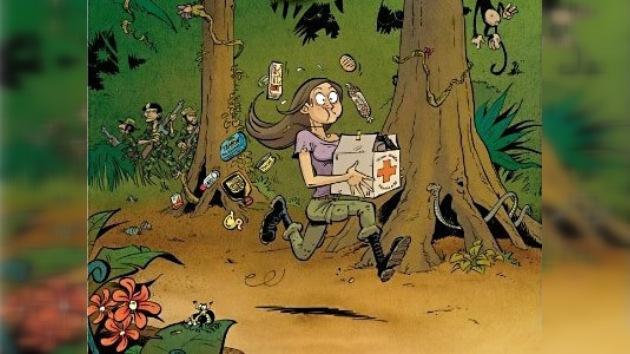 """Presentan """"Ingrid de la jungla"""", una sátira cruel sobre Ingrid Betancourt"""