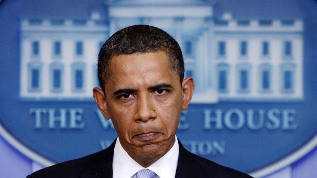 La popularidad de Obama en EE.UU. cae al mínimo