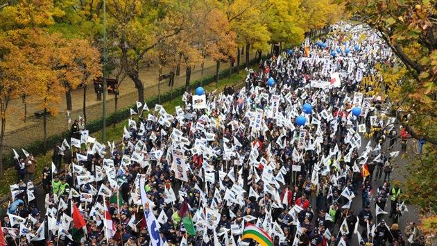 """A los policías españoles """"les sobran motivos"""" para convocar una protesta"""