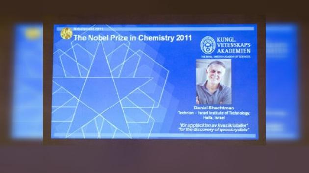 Descubridor de los cuasicristales recibe el Premio Nobel de Química