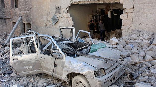 Un atentado con coche bomba en una mezquita siria deja varios muertos